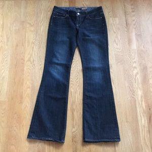 Paige jeans laurel canyon denim 29 long dark blue